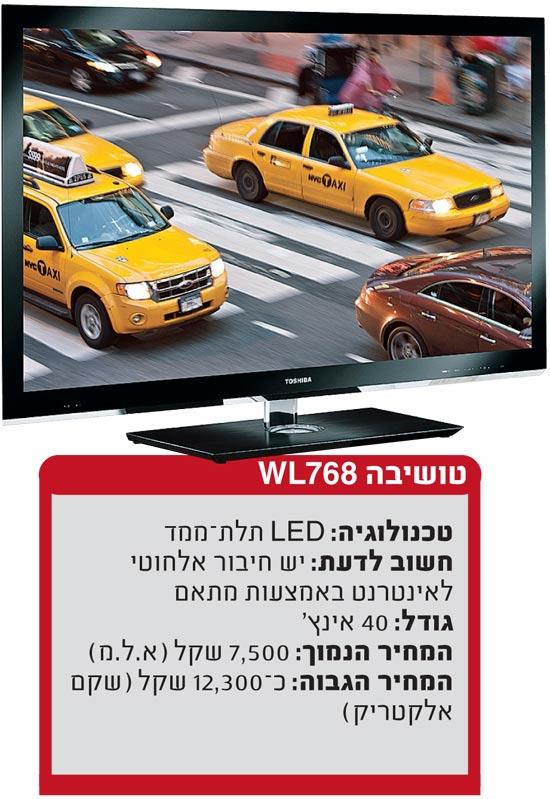 טלוויזיה תל מימד טושיבה / צלם: יחצ